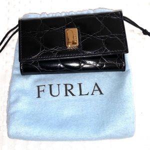 Authentic FURLA keychain wallet